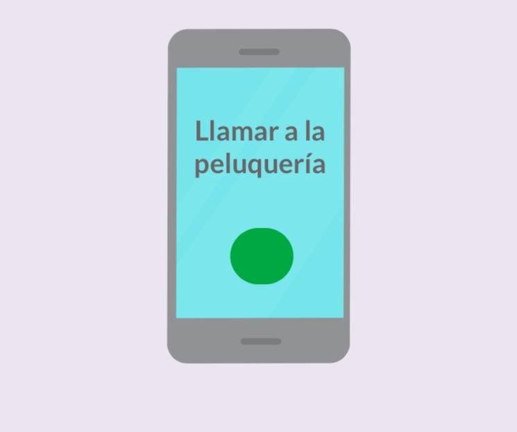 Un teléfono celular con las palabras