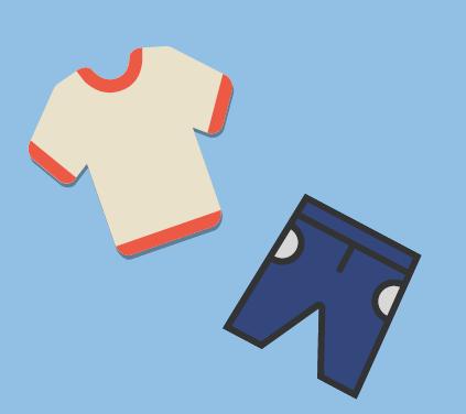 A shirt and pants.